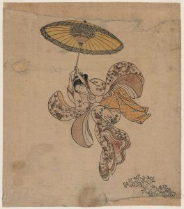 harunobu_young-woman-jumping-from-the-kiyomizu-temple-balcony